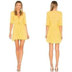 Love and Lemons yellow spring eyelet